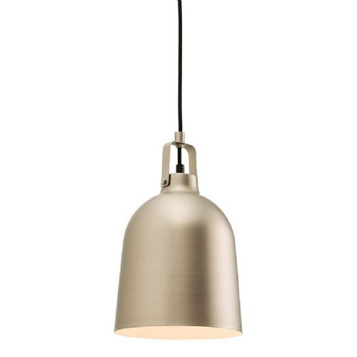 Matt nickel plate Pendant Light 61308 by Endon
